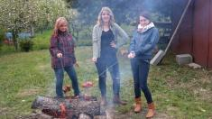 Pálení čarodějnic a stavění máje 2015