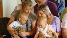 Vítání občánků do života - Litenčice 2011