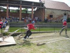 Vystoupení SDH Litenčice na soutěžích v roce 2008