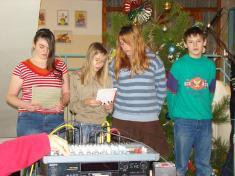 Vánoční besídka ZŠ 21.12.2007