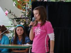 Vánoční besídka v Základní škole v Litenčicích 22.12.2009