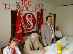 Oslava 100 let Sokola Litenčice
