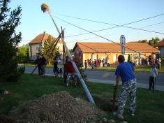 Stavění máje 1.5.2009